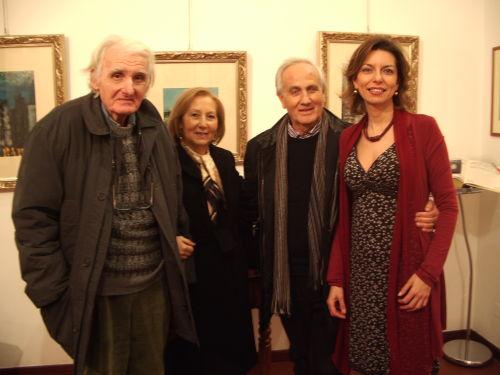 Tino Signorini, Vincenzo Nucci e Laura Romano