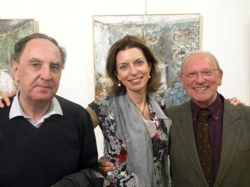 Aldo Gerbino, Laura Romano e Piero Longo